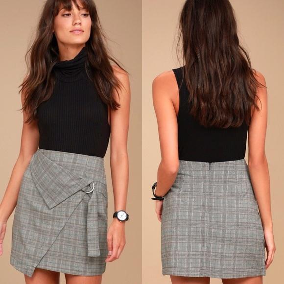 9aaf808c0b Lulu's Dresses & Skirts - Lulu's The Fifth Label Plaid Skirt